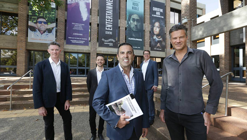 CHROFI and NBRS ARCHITECTURE win Sutherland Entertainment Centre refurbishment