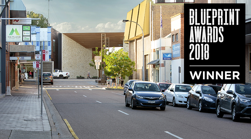 Maitland Riverlink wins prestigious Blueprint Award