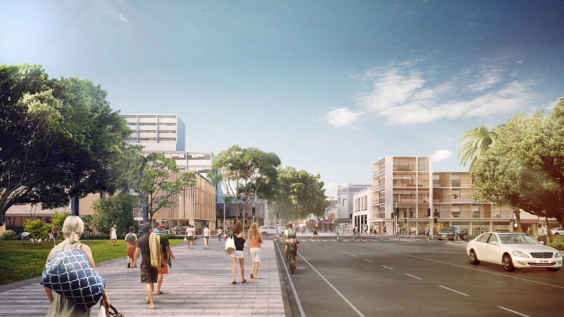 A new Gateway Plaza welcomes people to the CBD.