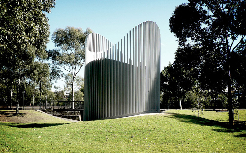Chrofi projects transgrid ventilation shaft for Australian institute of landscape architects