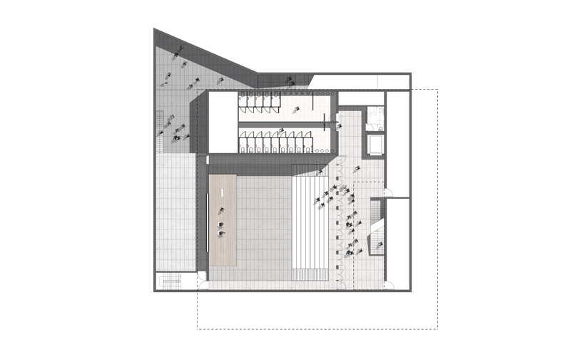 Alumni Pavilion - Lower Level 2 Plan