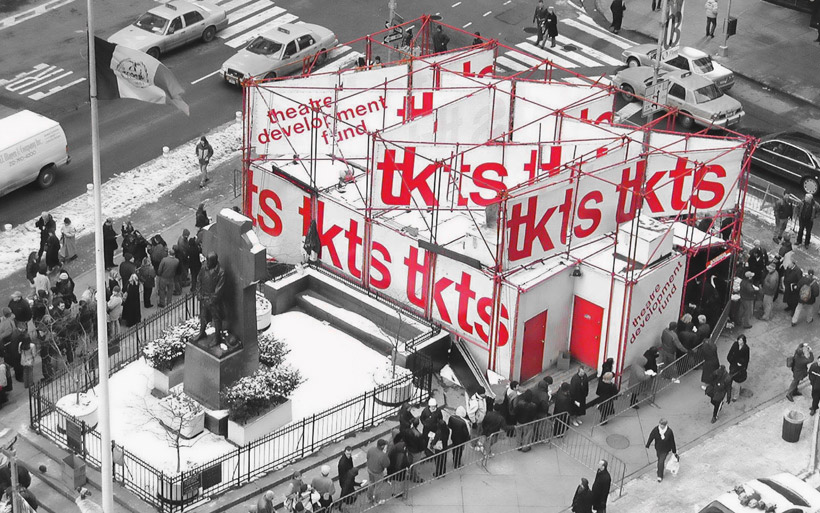 Rather than asking 'what kind of booth can we make', we asked 'what can this project be for Times Square and New York'.